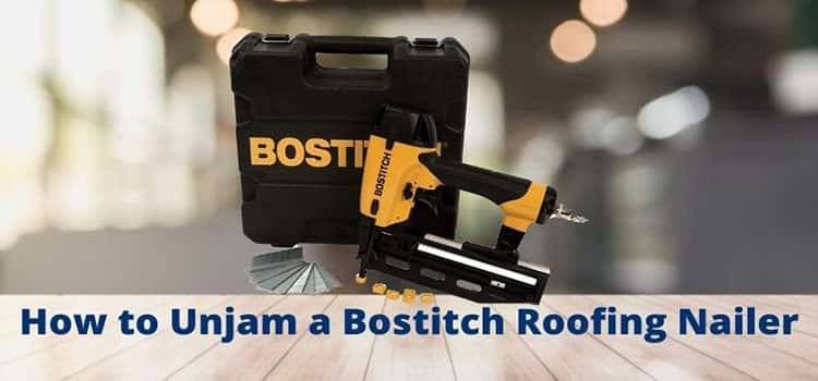 How to Unjam a Bostitch Roofing Nailer