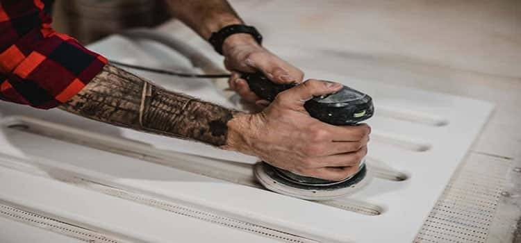 How To Use Sander For Trim Work